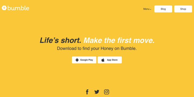 Bumble Empowers Women to Make the First Move
