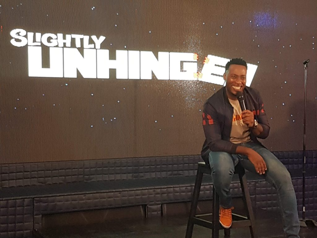 "Jamaican Comedian Dufton ""Duffy""Shepherd is ""Slightly Unhinged"""