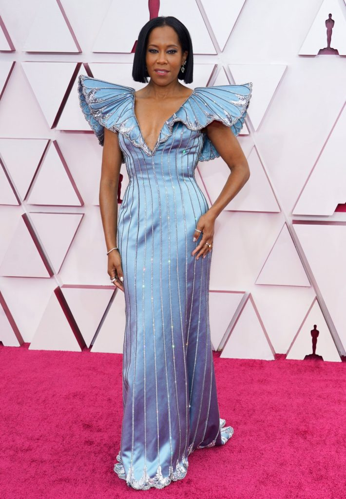 Regina King in Louis Vuitton and Forevermark jewellery