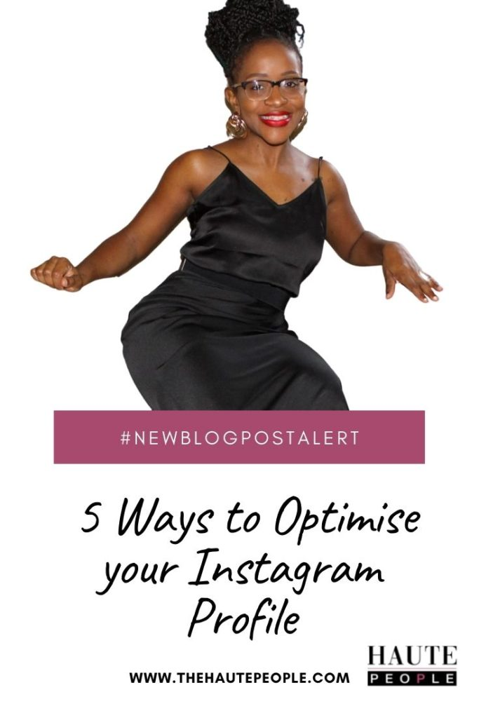How to optimise your Instagram Profile